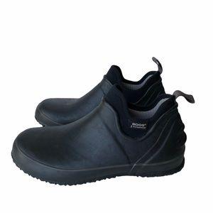 BOGS Black Rubber Urban Farmer Boots